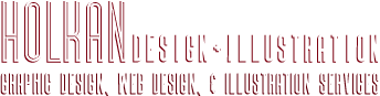 Holkan Design And Illustration - Graphic Design, Web Design, and Illustration Services